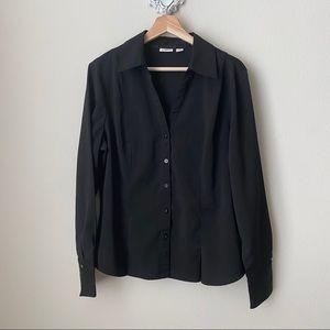 CATO black button down shirt